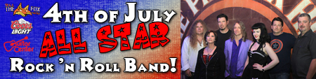 4th of July All Star Band Banner